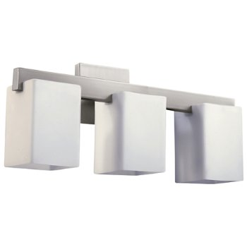 Shown in Satin Nickel with Satin Opal finish, 3 Inch