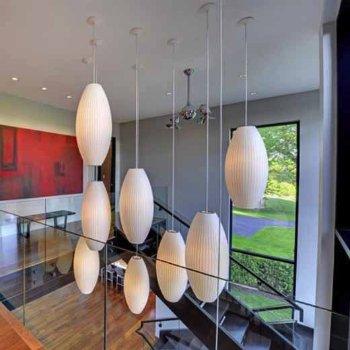 Acqua Ceiling Fan, in use
