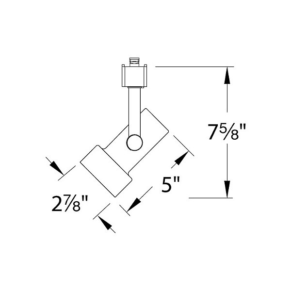 Line Voltage Step Cylinder 725 Track Head