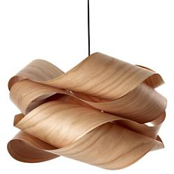 semi pendant light glossy orange finish. Link Suspension Semi Pendant Light Glossy Orange Finish