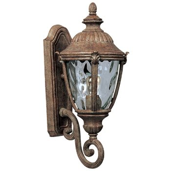 Morrow Bay Outdoor Wall Sconce with Scroll