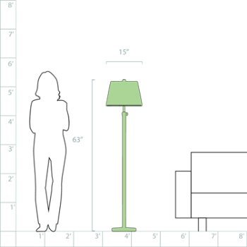 Bruno Adjustable Club Floor Lamp by Robert Abbey at Lumens.com
