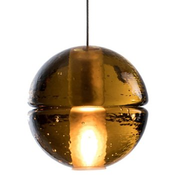 Shown in Amber Glass