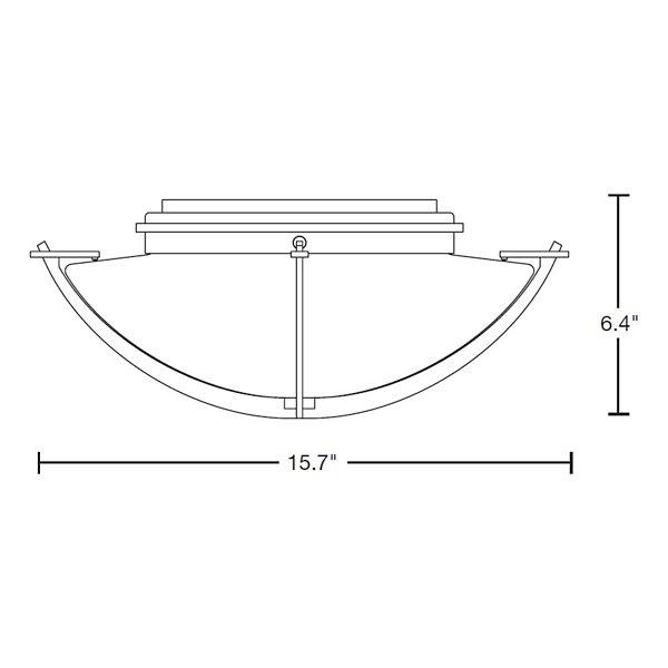 Compass Semi-Flushmount