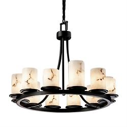 LumenAria Dakota 12 Light Chandelier
