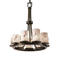 LumenAria Dakota 9 Light Chandelier