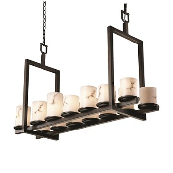 LumenAria Dakota Double Bar Linear Suspension