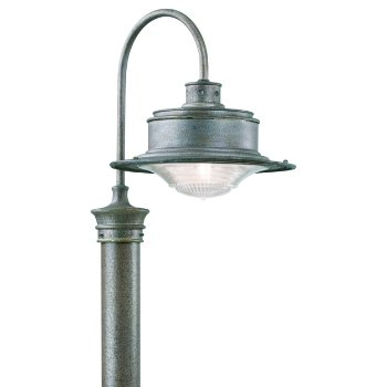 Shown in Old Galvanized finish, Medium size