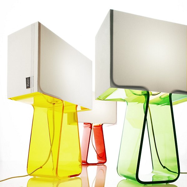 Tube Top Colors Table Lamp