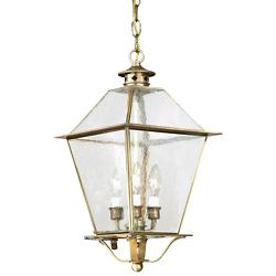 Montgomery Outdoor Pendant with Glass Top