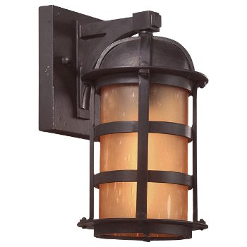 Aspen Outdoor Wall Sconce - Fluorescent