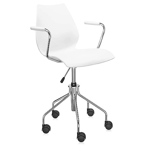 maui swivel armchair height adjustable by kartell at lumens com