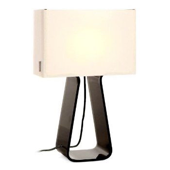 Shown in White and Charcoal finish, Medium Size