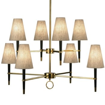 Ventana 2 tier chandelier by robert abbey at lumens ventana 2 tier chandelier aloadofball Gallery