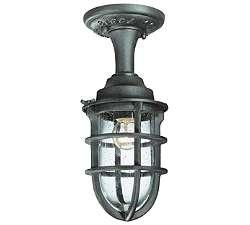Wilmington Outdoor Semi Flushmount Lantern