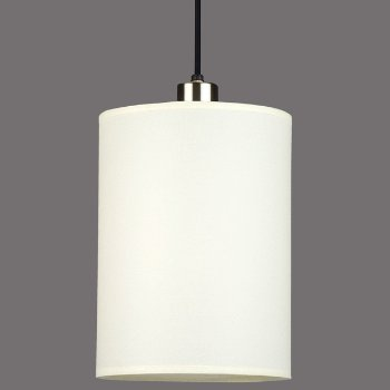 Shown in Natural Linen shade, no bottom diffuser