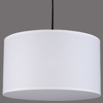 Shown in White Linen shade, matching bottom diffuser