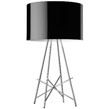 Shown in Black Painted Metal shade