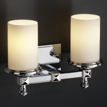 Shown in Opal shade, Polished Chrome finish