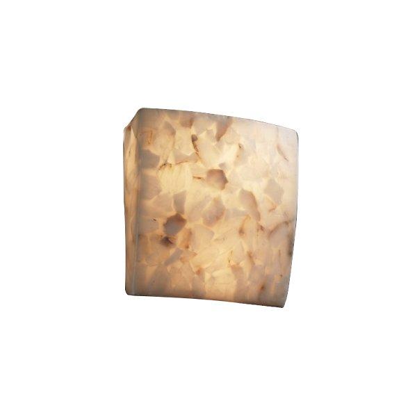 Alabaster Rocks! Square Wall Sconce