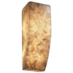 Alabaster Rocks! Rectangle Wall Sconce