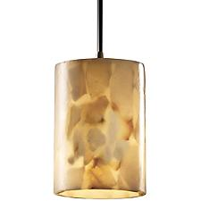 Alabaster Rocks Mini Pendant Light