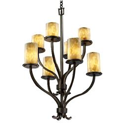 Alabaster Rocks! Sonoma 2-Tier Chandelier