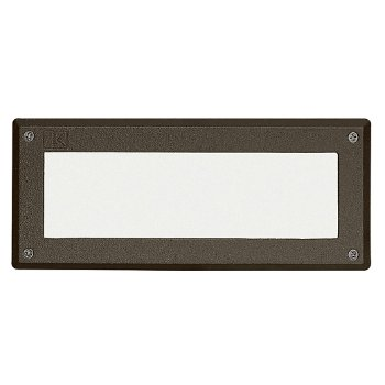 LED Brick Light with Heat-Resistant Glass Lens