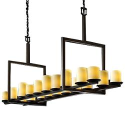 CandleAria Dakota Really Big Bridge Linear Suspension