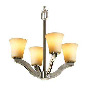 CandleAria Bend Chandelier