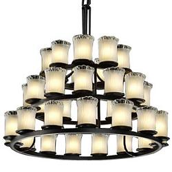 Veneto Luce Dakota 3-Tier Chandelier