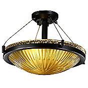 Veneto Luce Semi-Flush Bowl with Ring