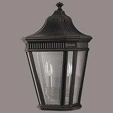 Cotswold Lane Outdoor Flush Wall Sconce