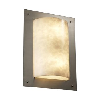 Clouds Framed Rectangle Wall Sconce