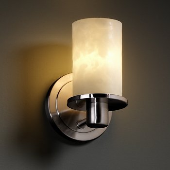Shown in Brushed Nickel finish, in use