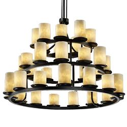 Clouds Dakota 3-Tier Chandelier