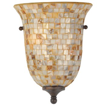 Monterey Mosaic Flush Wall Sconce