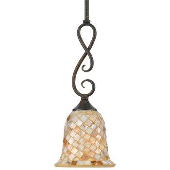 Monterey Mosaic Mini Pendant