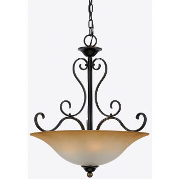 Palladian Bronze with Champagne Marble shade