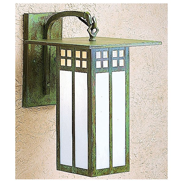 Glasgow Bent Arm Outdoor Wall Sconce