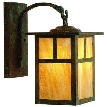 Mission Arched Arm Outdoor Wall Sconce