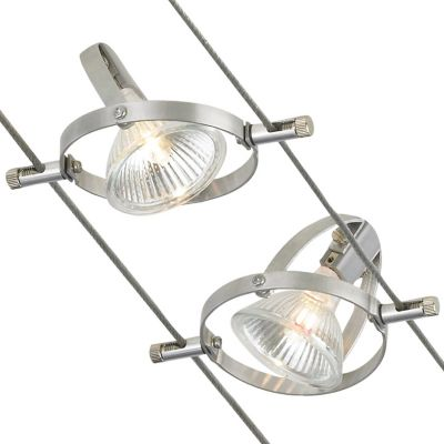 Cable lighting wire track lighting cable systems at lumens accent head cable kit aloadofball Gallery