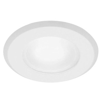 Shown in Frosted glass lens, Matte White finish