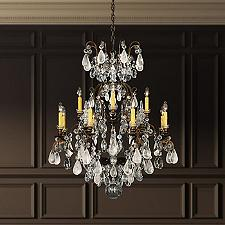 Renaissance Rock Crystal Chandelier