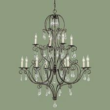 Chateau 12-Light 2-Tier Chandelier
