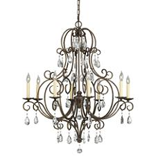 Chateau 8-Light Chandelier