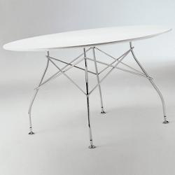 Glossy Oval Table