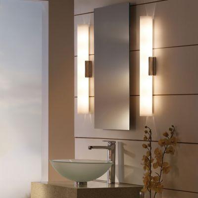 Bathroom Sconces Vertical Horizontal Bath Sconces at Lumenscom