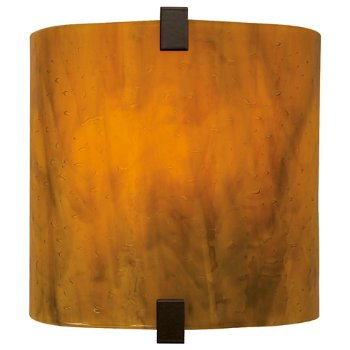 Shown with Beach Amber Glass shade and Satin Nickel finish