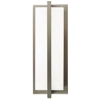 Shown in White Glass shade, Satin Nickel finish